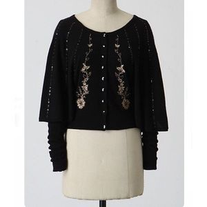 Anthropologie Guinevere Evening Abuzz Capelet